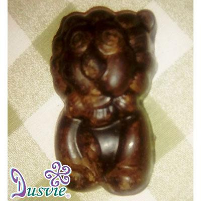 Chocolate en forma de león