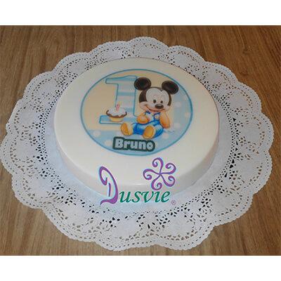 Gelatina de Mickey Mouse