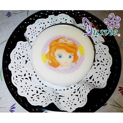 Gelatina imagen comestible princesita sofia