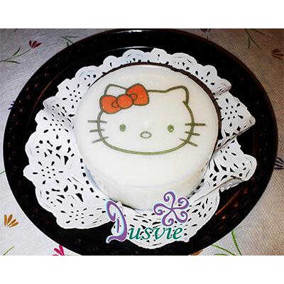 Gelatina imagen comestible hello kitty