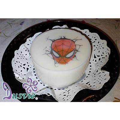 Gelatina imagen comestible spiderman