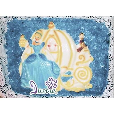 Gelatina artistica 3D princesa disney cenicienta