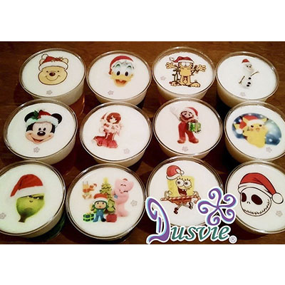 gelatinas navideñas combinadas