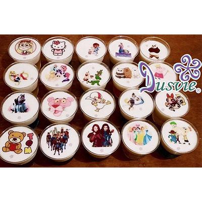 gelatinas personajes caricaturas comestibles