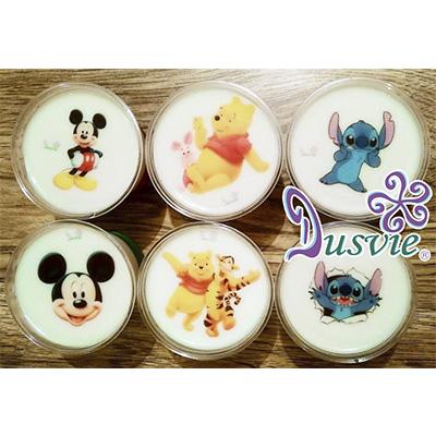 gelatinas mickey mouse, winnie pooh y stitch