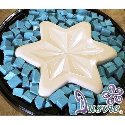 gelatina de guayaba en forma de estrella