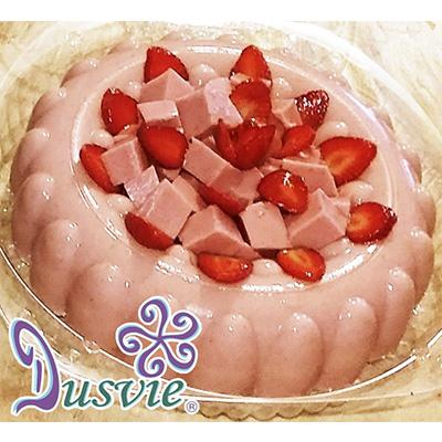 gelatina de fresa natural con stevia