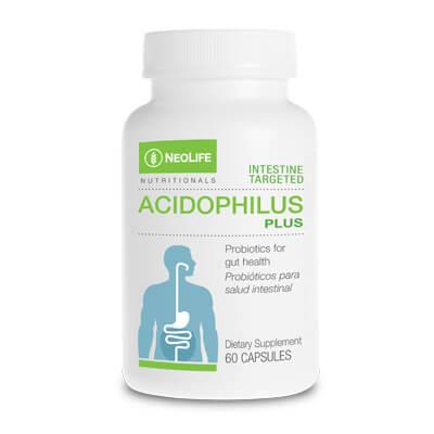 Bote de suplemento Acidophilus