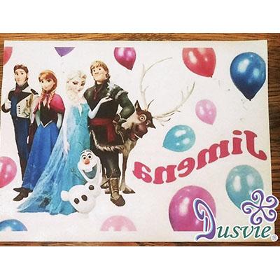 Oblea para decorar pastel con imagen de Frozen