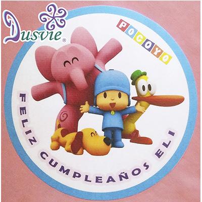 Oblea para decorar pastel con imagen de Pocoyo