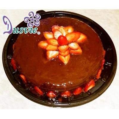 Pastel de chocolate con stevia