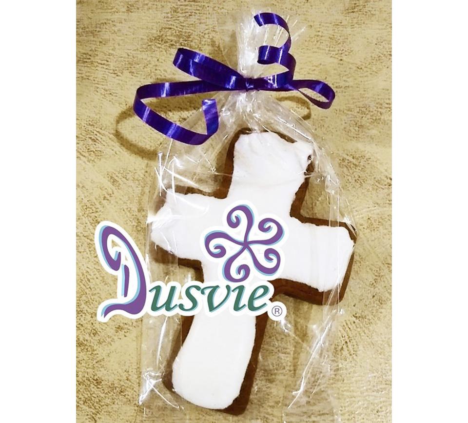 galletas decoradas de jengible cruz